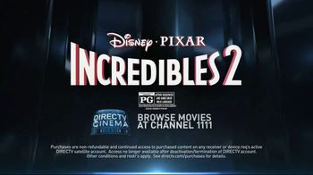 DIRECTV Cinema TV Spot, 'Incredibles 2' - Thumbnail 10
