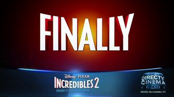 DIRECTV Cinema TV Spot, 'Incredibles 2' - Thumbnail 2