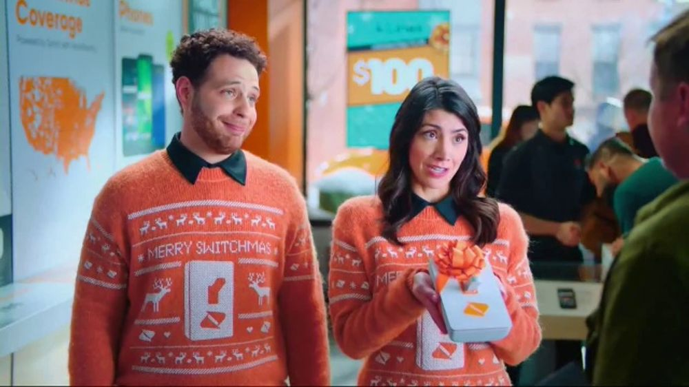 Boost Mobile TV Commercial, 'A Switchmas Miracle' - Video