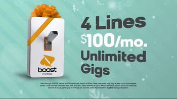 Boost Mobile TV Spot, 'A Switchmas Miracle' - Thumbnail 8