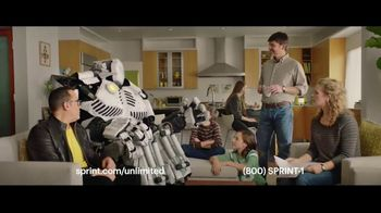Sprint Unlimited Plan TV Spot, \'Robots Don\'t Lie\'