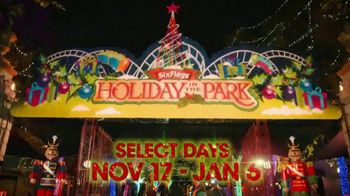 Six Flags Holiday in the Park TV Spot, 'Biggest and Brightest'