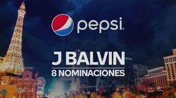 Pepsi TV Spot, 'Recipientes de la beca Latin Grammy Cultural Foundation' con J Balvin [Spanish] - 1 commercial airings