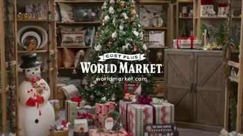 Cost Plus World Market TV Spot, 'Holidays: Holiday Treats for Everyone' Song by Jessie J - Thumbnail 1
