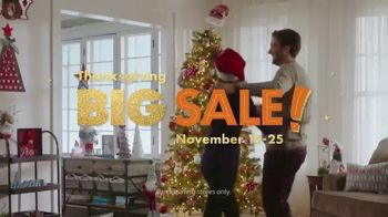 Big Lots Big Thanksgiving Sale TV Spot, 'Free Boxspring' Song by Three Dog Night
