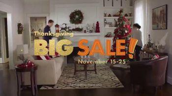 Big Lots Big Thanksgiving Sale TV Spot, 'Urn Trees' Song by Three Dog Night