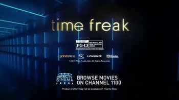 DIRECTV Cinema TV Spot, 'Time Freak' - Thumbnail 8