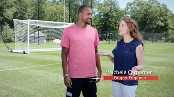 Draper TV Spot, 'The Science of Sports: Soccer' Featuring Teal Bunbury - Thumbnail 2