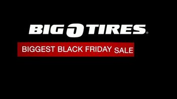Big O Tires Biggest Black Friday Sale Ever TV Spot, 'Tires and Motor Oil' - Thumbnail 1