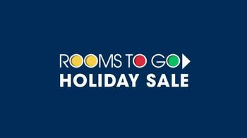 Rooms to Go Holiday Sale TV Spot, 'Five-Piece Dining Sets: $13 Per Month' - Thumbnail 1