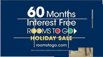 Rooms to Go Holiday Sale TV Spot, 'Five-Piece Dining Sets: $13 Per Month' - Thumbnail 10