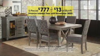 Rooms to Go Holiday Sale TV Spot, 'Five-Piece Dining Sets: $13 Per Month' - Thumbnail 6