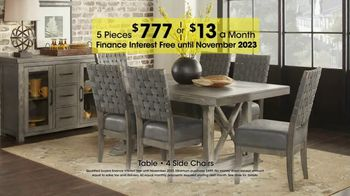 Rooms to Go Holiday Sale TV Spot, 'Five-Piece Dining Sets: $13 Per Month' - Thumbnail 9