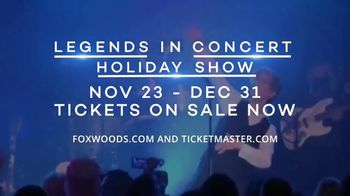 Foxwoods Resort Casino TV Spot, '2018 Legends in Concert Holiday Show' Song by The Black Eyed Peas - Thumbnail 5