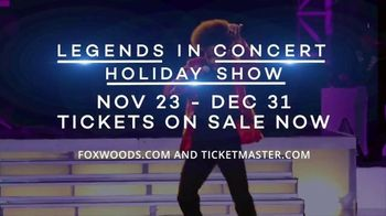 Foxwoods Resort Casino TV Spot, '2018 Legends in Concert Holiday Show' Song by The Black Eyed Peas - Thumbnail 6