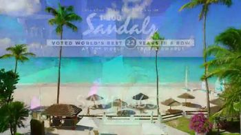 Sandals Resorts TV Spot, 'Wherever You Go' Song by Conro - Thumbnail 10