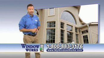 Window Works TV Spot, 'Old Drafty Windows' - Thumbnail 6