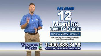 Window Works TV Spot, 'Old Drafty Windows' - Thumbnail 7