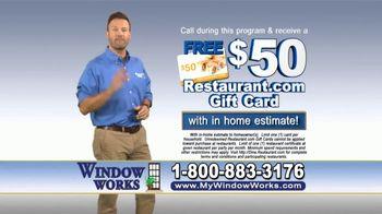 Window Works TV Spot, 'Old Drafty Windows' - Thumbnail 9