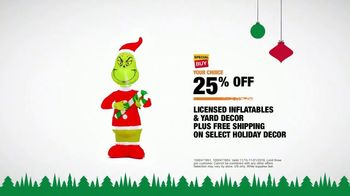 The Home Depot TV Spot, 'Holidays: Special Buy on Licensed Inflatables' - Thumbnail 9