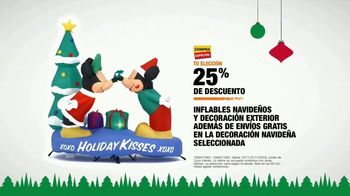 The Home Depot TV Spot, 'Holidays: inflables navideños' [Spanish] - Thumbnail 9
