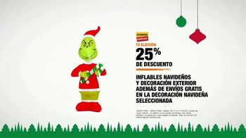The Home Depot TV Spot, 'Holidays: inflables navideños' [Spanish] - Thumbnail 8