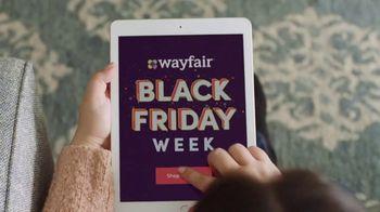 Wayfair Black Friday Week TV Spot, 'Big Savings Machine' - 415 commercial airings