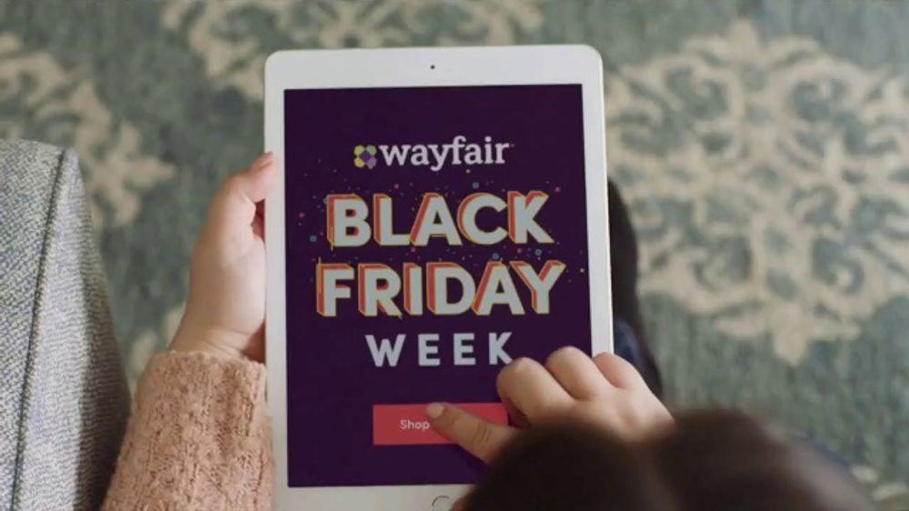 Wayfair Black Friday Week TV Commercial, 'Big Savings Machine'
