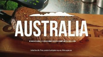 Outback Steakhouse Big Australia TV Spot, 'Bigger Than Ever: Gift Card'
