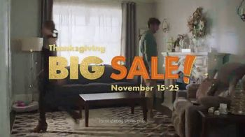 Big Lots Big Thanksgiving Sale TV Spot, 'Sofas and Loveseats' Song by Three Dog Night