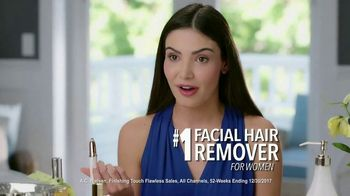 Finishing Touch Flawless Brows TV Spot, 'Sweep Away Unwanted Hair' - Thumbnail 5