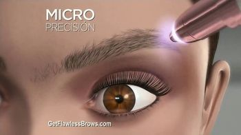 Finishing Touch Flawless Brows TV Spot, 'Sweep Away Unwanted Hair' - Thumbnail 8