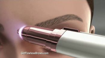 Finishing Touch Flawless Brows TV Spot, 'Sweep Away Unwanted Hair' - Thumbnail 9
