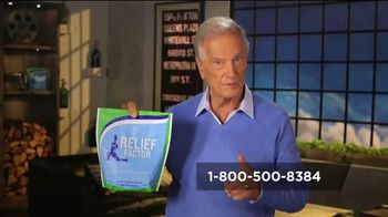 Relief Factor Quickstart TV Spot, 'Don't Put Up With the Pain' Featuring Pat Boone - 3 commercial airings
