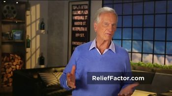 Relief Factor Quickstart TV Spot, 'Don't Put Up With the Pain' Featuring Pat Boone