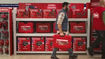 Lowe's TV Spot, 'Holiday Savings: A Craftsman Needs New Tools' - Thumbnail 9