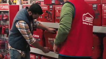 Lowe's TV Spot, 'Holiday Savings: A Craftsman Needs New Tools' - Thumbnail 7