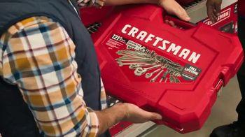 Lowe's TV Spot, 'Holiday Savings: A Craftsman Needs New Tools' - Thumbnail 8