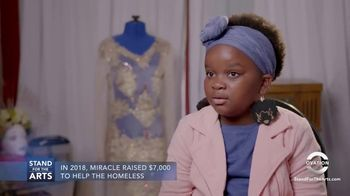 Stand for the Arts TV Spot, 'Ovation: Miracle Robinson'