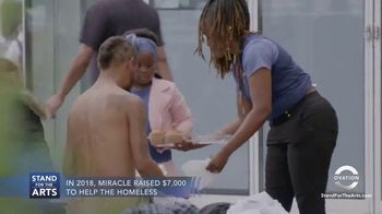 Stand for the Arts TV Spot, 'Ovation: Miracle Robinson' - Thumbnail 4