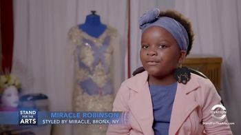 Stand for the Arts TV Spot, 'Ovation: Miracle Robinson' - Thumbnail 8