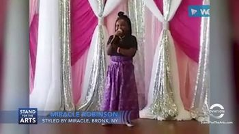 Stand for the Arts TV Spot, 'Ovation: Miracle Robinson' - Thumbnail 9