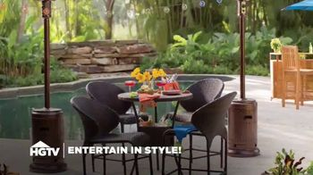 Wayfair TV Spot, 'HGTV: Fun Outdoor Seating' - Thumbnail 1