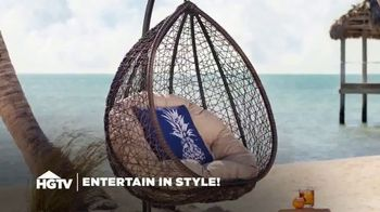 Wayfair TV Spot, 'HGTV: Fun Outdoor Seating' - Thumbnail 2