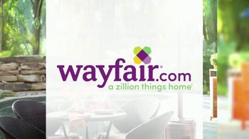 Wayfair TV Spot, 'HGTV: Fun Outdoor Seating' - Thumbnail 6
