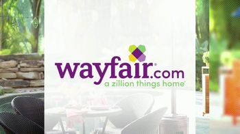 Wayfair TV Spot, 'HGTV: Fun Outdoor Seating' - Thumbnail 7