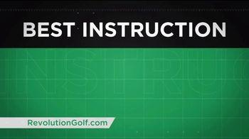 Revolution Golf TV Spot, 'Custom Instruction' - Thumbnail 7