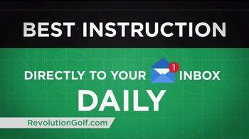 Revolution Golf TV Spot, 'Custom Instruction' - Thumbnail 8