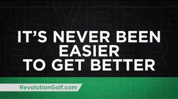 Revolution Golf TV Spot, 'Custom Instruction' - Thumbnail 9