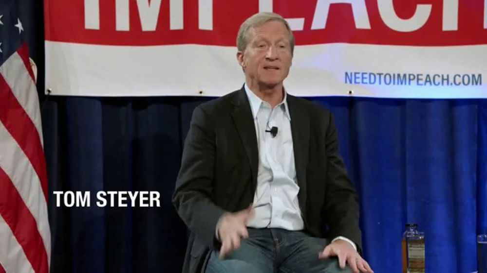 Tom Steyer TV Commercial, 'Need to Impeach Movement'